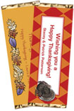 personalized thanksgiving candy bar wrapper