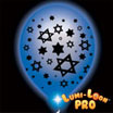 Light up Chanukah balloons