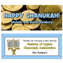 Chanukah party theme banners