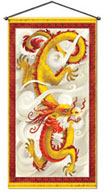 Chinese New Year door hanging