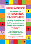 personalized candyland invitation