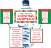 Christmas Candyland Custom Bottle Labels