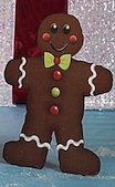 gingerbread man cutout