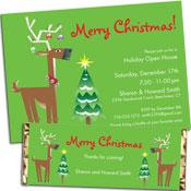 Christmas raindeer theme party supplies