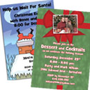 Custom Christmas invitations