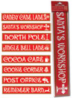 North Pole Signs Christmas Decoration
