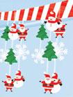 Santa Christmas ceiling danglers