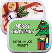 personalized christmas tree mint and candy tins