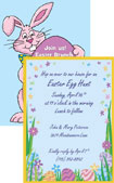 personalized easter egg invitation