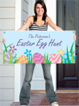 Custom Easter Welcome Banners