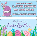 Easter theme banners
