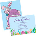 Easter theme invitations