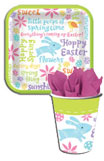 Easter bunny paper goods