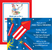 personalized 4th of july invitation