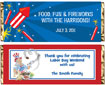 patriotic candy bar wrapper