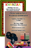 personalized kwanzaa invitation