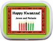 custom kwanzaa mint and candy tins