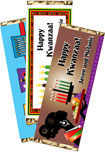 personalized kwanzaa candy bar wrapper