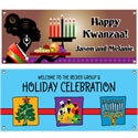 Kwanzaa party theme banners