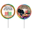 Kwanzaa party theme lollipops