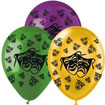 mardi gras mask balloon