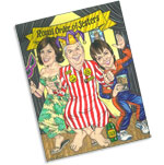 custom caricatures for Mardi Gras theme parties