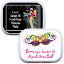 Custom Mardi Gras Mint and Candy Tins