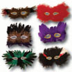 mardi gras birthday party masks
