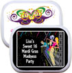personalized mardi gras mint tin favors