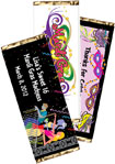 custom mardi gras theme party favor. mardi gras theme candy bars