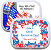 patriotic mint and candy tin