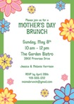 personalized mother's day invitation