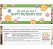 personalized mother's day candy bar wrappers