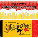 Oktoberfest party theme banners