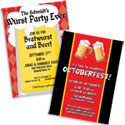 Oktoberfest theme invitations