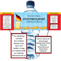 Oktoberfest Party theme water labels