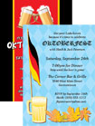 personalized oktoberfest invitation