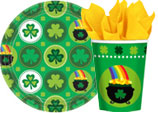 st patrick's day paper goods