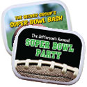 Super Bowl party mint tins