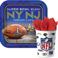 2012 Super Bowl XLVI Party Supplies