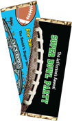 personalized super bowl candy bar wrapper