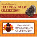 Thanksgiving theme banners