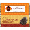 Thanksgiving theme candy bar wrappers