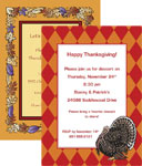 Custom Thanksgiving invitations