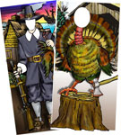 Thanksgiving Pilgram and Turkey Photo Ops