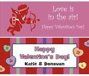 Valentine's Day banners. Banners for Valentine's Day
