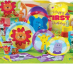 safari friends 1st birthday party supplies