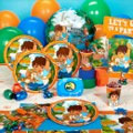 Go Deigo theme party supplies. Diego kid's birthday party