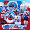 Mario Kart birthday party supplies, decorartion for a video game birthday