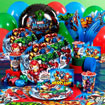 marvel heros party supplies. Hulk, Iron Man theme birthday